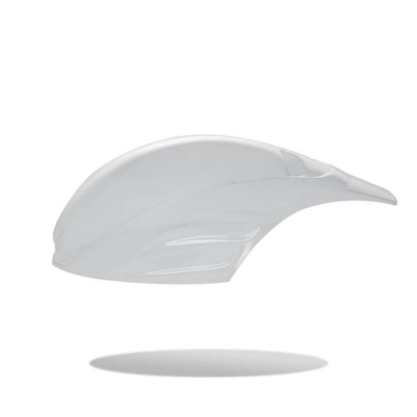 CALOTTINE AERODINAMICHE ANTI PIOGGIA (per casco GUN WIND) - LUNGA