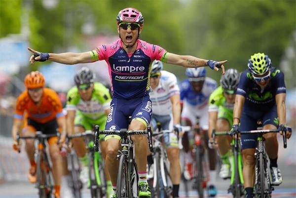 Vittoria di tappa al Giro d'Italia per Suomy