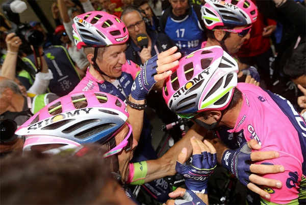 Poker of victories for Suomy at the Tour of Italy
